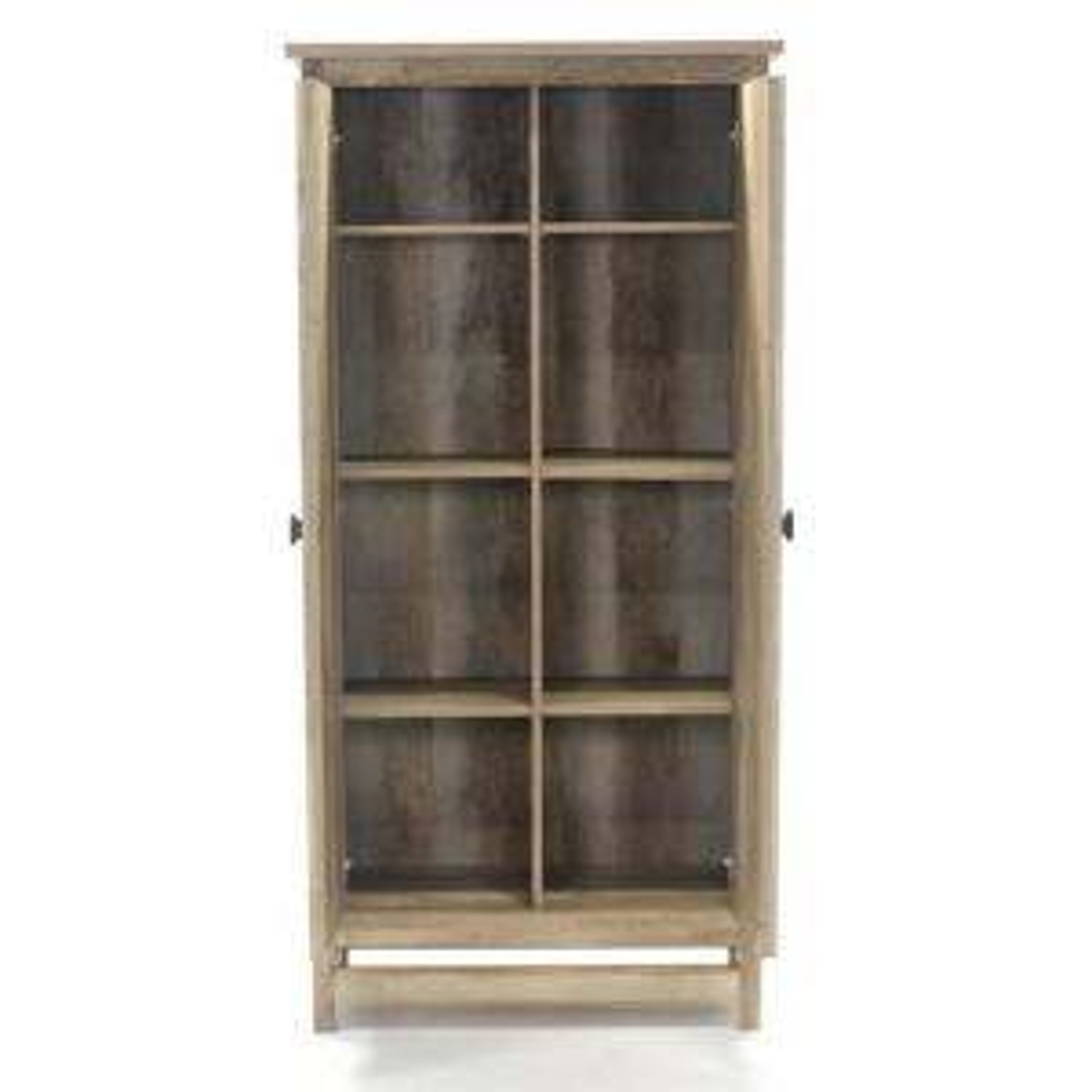 SAUDER Cannery Bridge Lintel Oak Storage Cabinet-416082 - The Home ...
