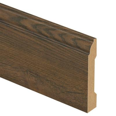Cotton Valley Oak/Holland Oak 9/16 in. Thick x 3-1/4 in. Wide x 94 in. Length Laminate Wall Base Molding