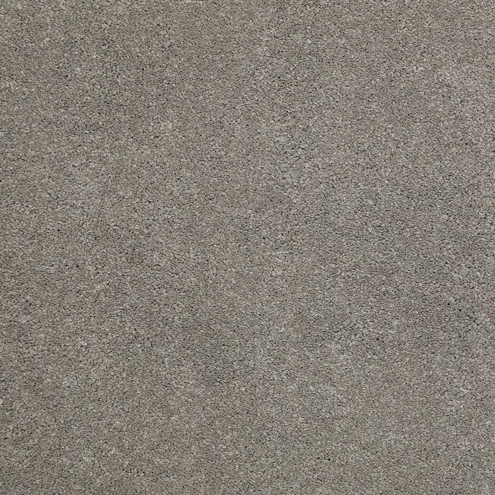 LifeProof Carpet Sample - Coral Reef II - Color Dawn Drizzle Texture 8 in. x 8 in.