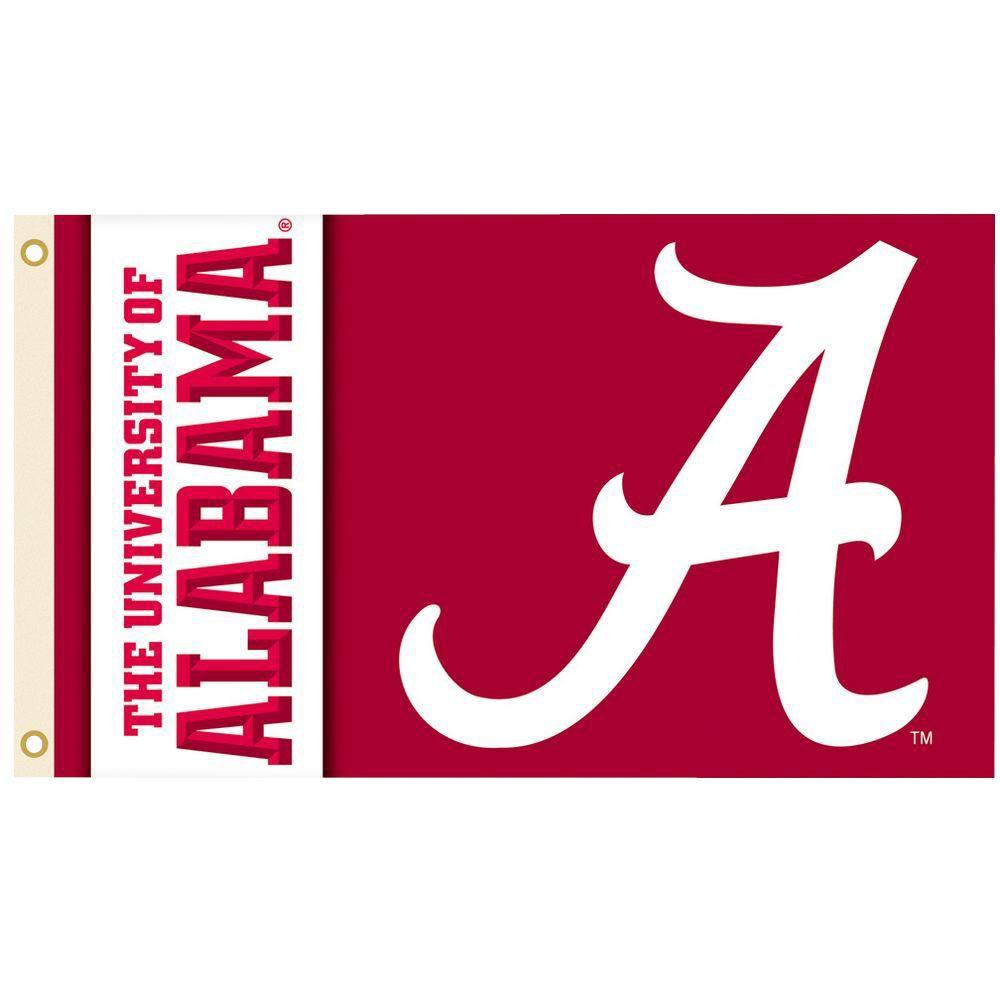 BSI Products NCAA 3 ft. x 5 ft. Alabama Flag
