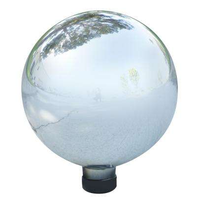 Silver Glass Gazing Globe