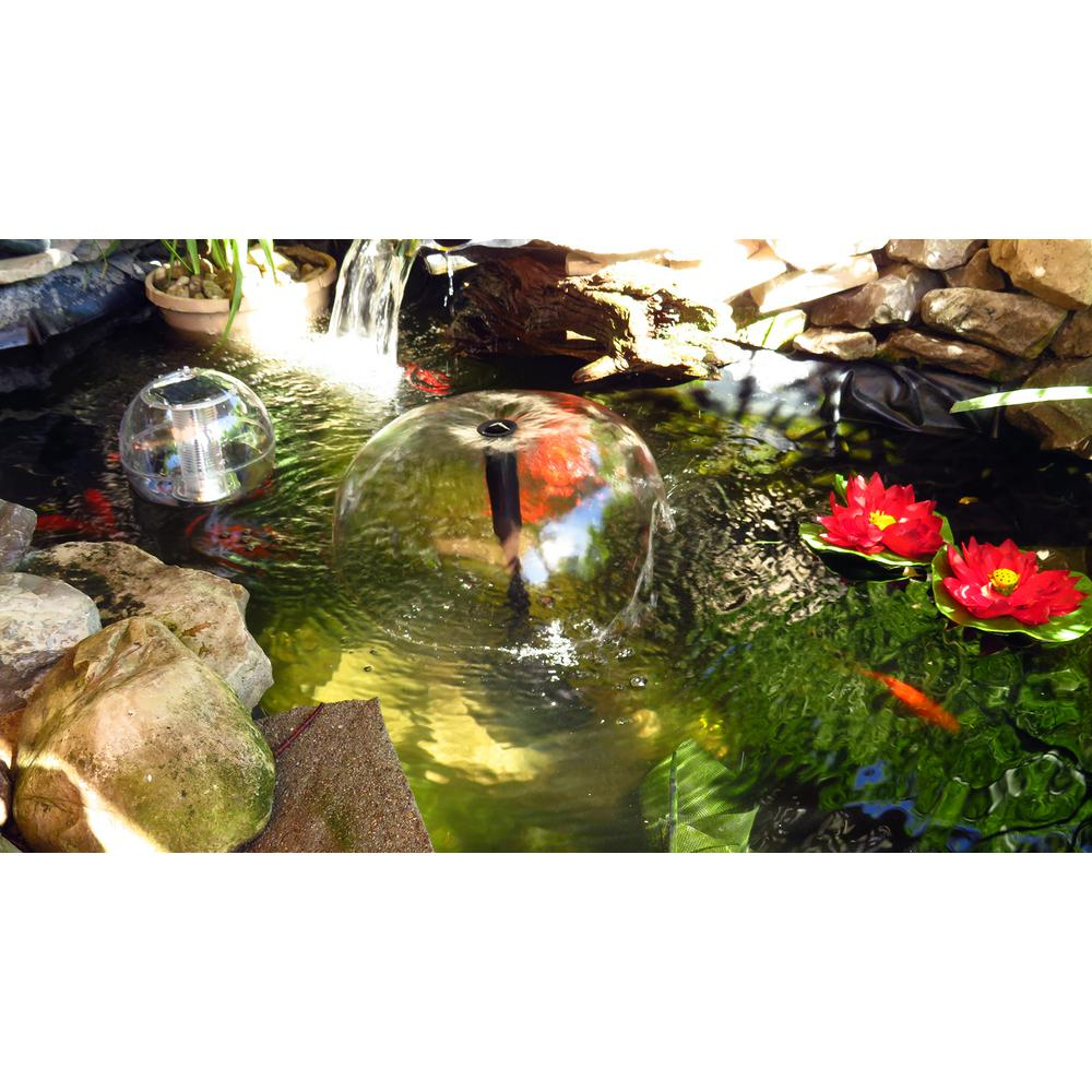 Koolatron 270 gal  Pond Kit with Solar Light