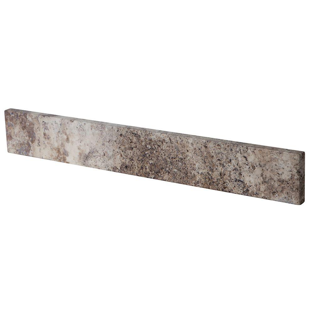 Home Decorators Collection 21.13 in. Stone Effects Sidesplash in Avalon