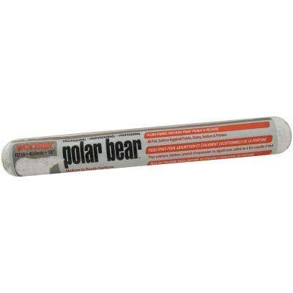 18 in. Polar Bear High Capacity Plush Roller