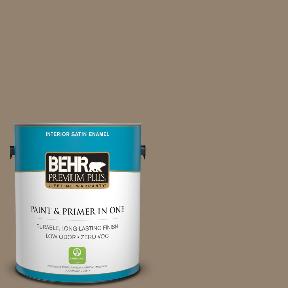 Home Decorators Collection 1-gal. #HDC-AC-14 Bristol Beige Zero VOC Satin Enamel