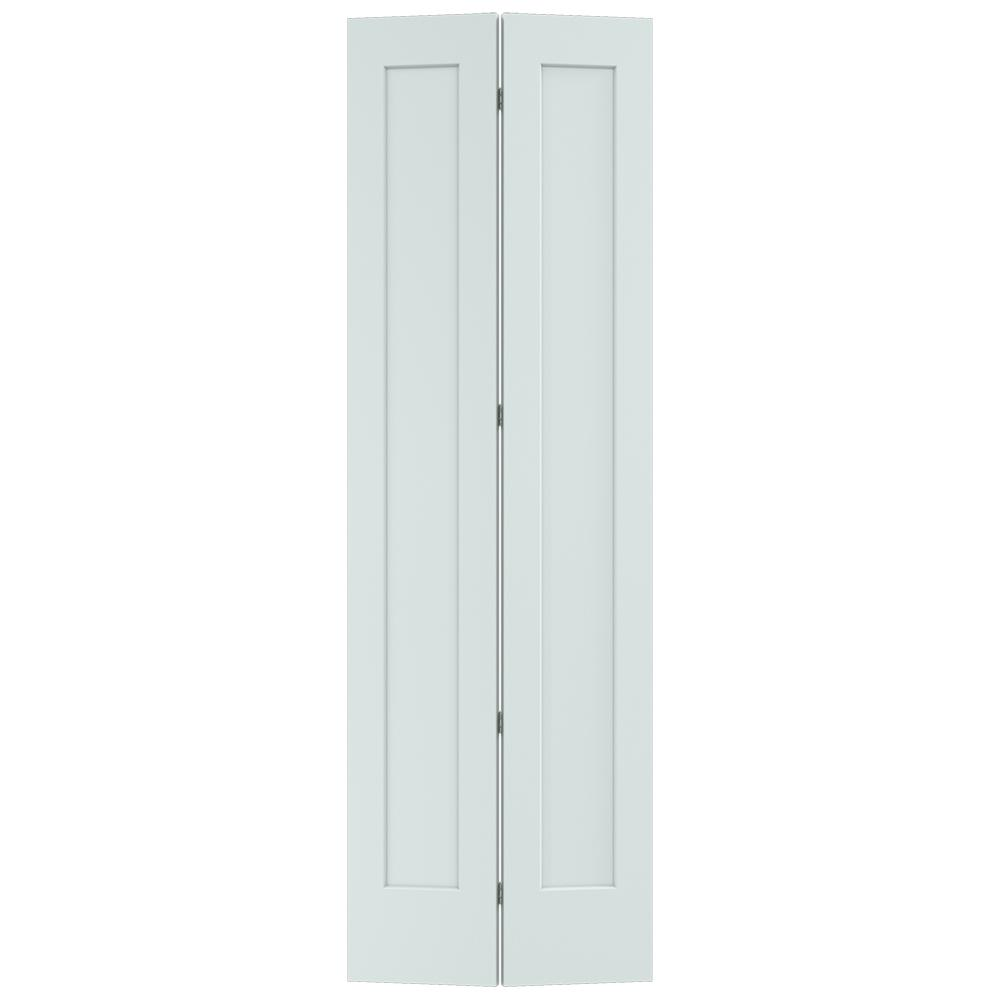 Jeld Wen 32 In X 96 In Madison Light Gray Painted Smooth Solid