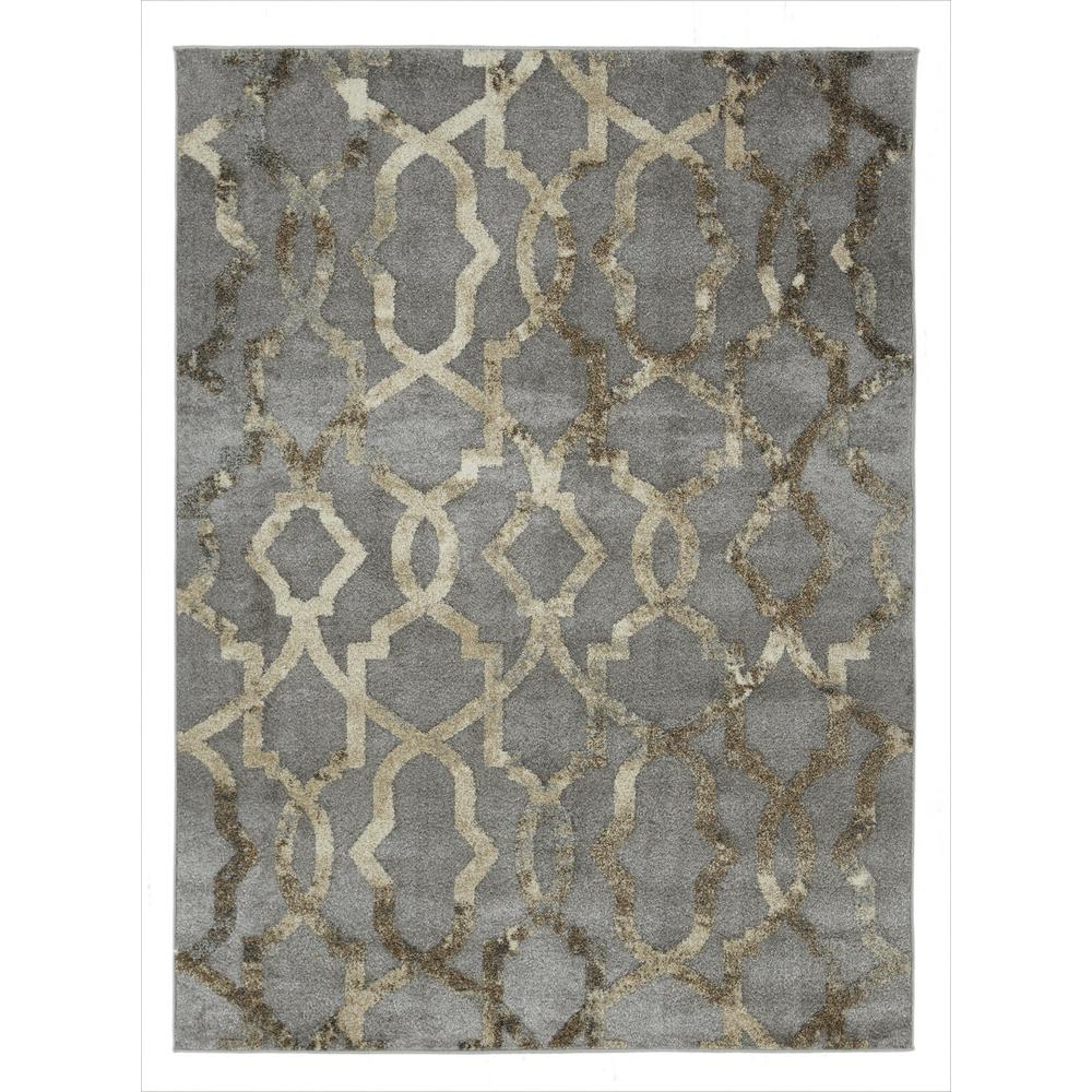 urban collection faded grey 5 ft x 7 ft imperial trellis area rug urb4221 5x7 the home depot. Black Bedroom Furniture Sets. Home Design Ideas