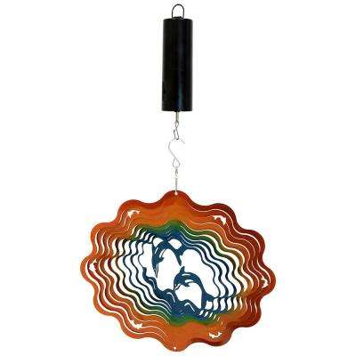 Dolphin 12 in. Whirligig Wind Spinner with Battery-Operated Motor