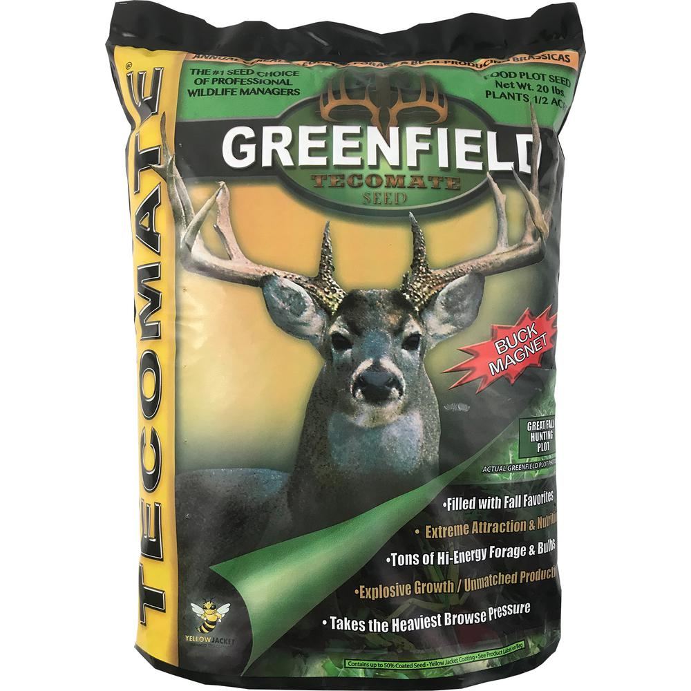 Tecomate 20 lb. Greenfield Professional Wildlife Seed Mix