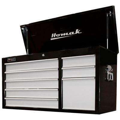 SE Series 41 in. 8-Drawer Tool Chest, Black and Gray