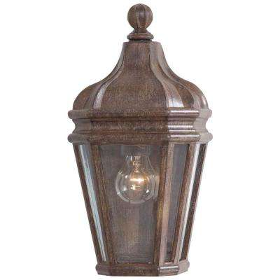 Harrison 1-Light Vintage Rust Outdoor Pocket Lantern