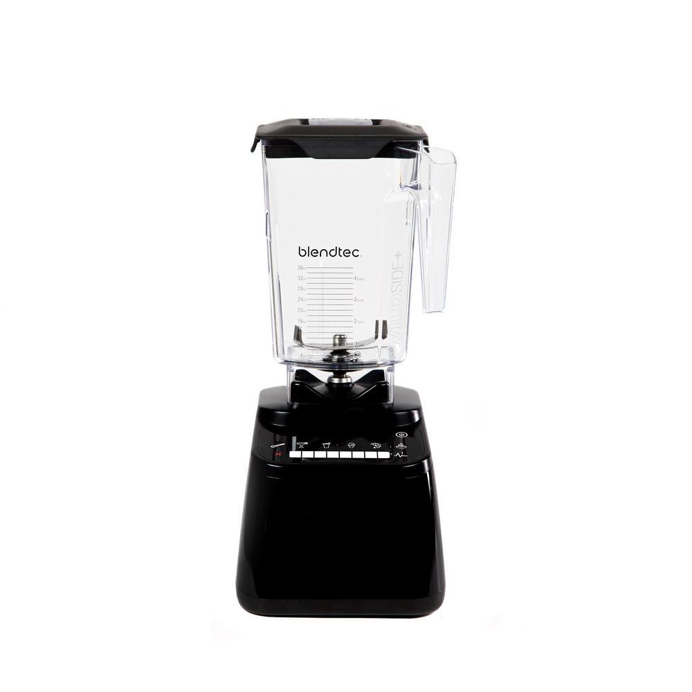 Designer 650 90 oz. 8-Speed Black Blender with Plastic Jar