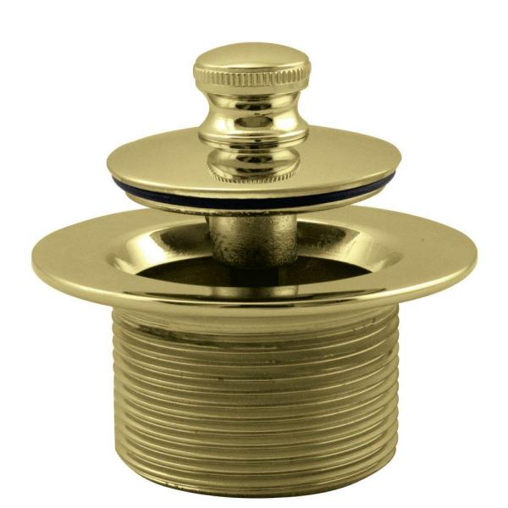 1-1/2 in. NPSM Coarse Thread Twist and Close Bath Drain Plug