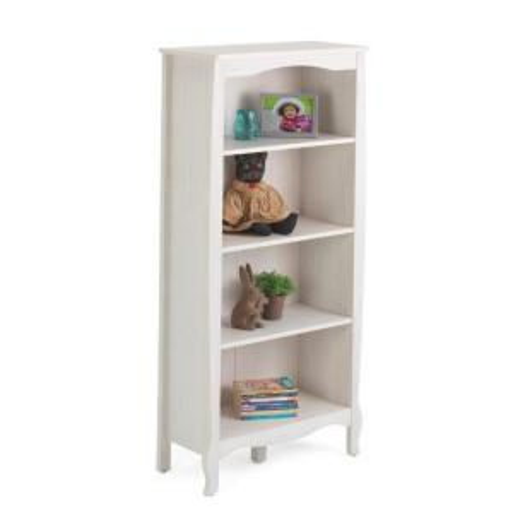 4D Concepts Lindsay White Open Bookcase by 4D Concepts