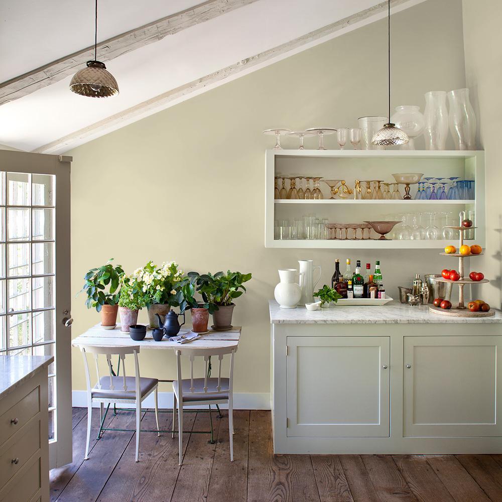 Reviews For Glidden Essentials 1 Gal Hdgy49d Sunlit Meadow Eggshell Interior Paint Hdgy49de 01en The Home Depot