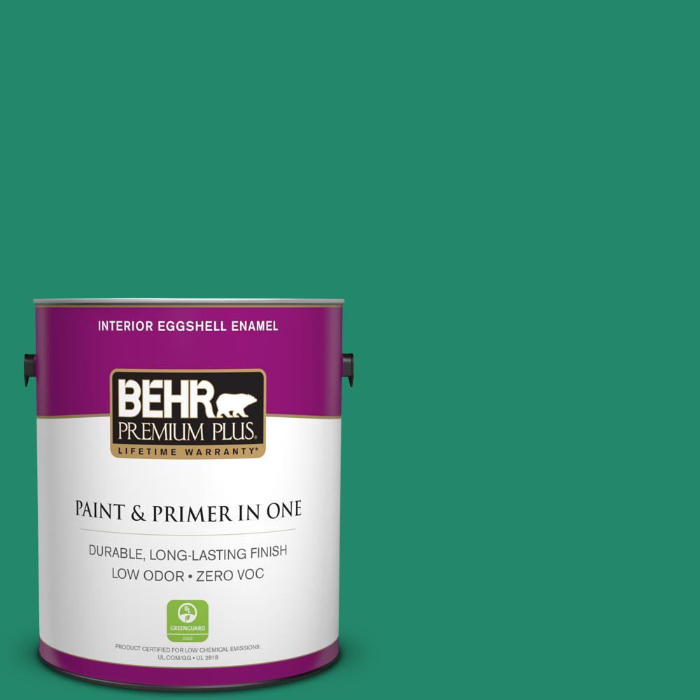 BEHR Premium Plus 1-gal. #P430-6 Fairy Queen Eggshell Enamel Interior Paint