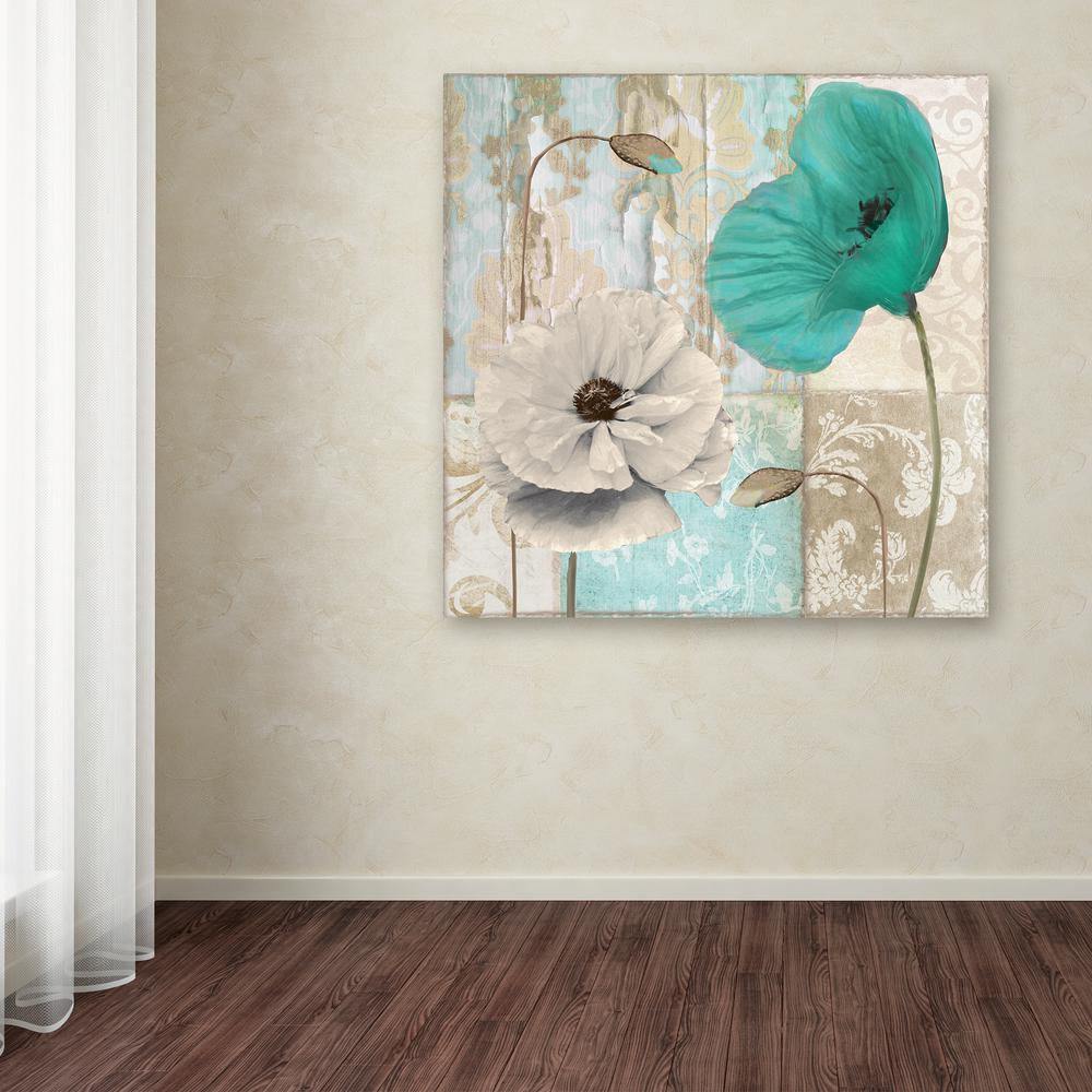 Trademark Fine Art 18 in. x 18 in. ''Beach Poppies III''