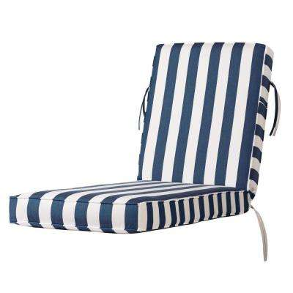 Sunbrella Maxim Regatta Outdoor Chaise Lounge Cushion