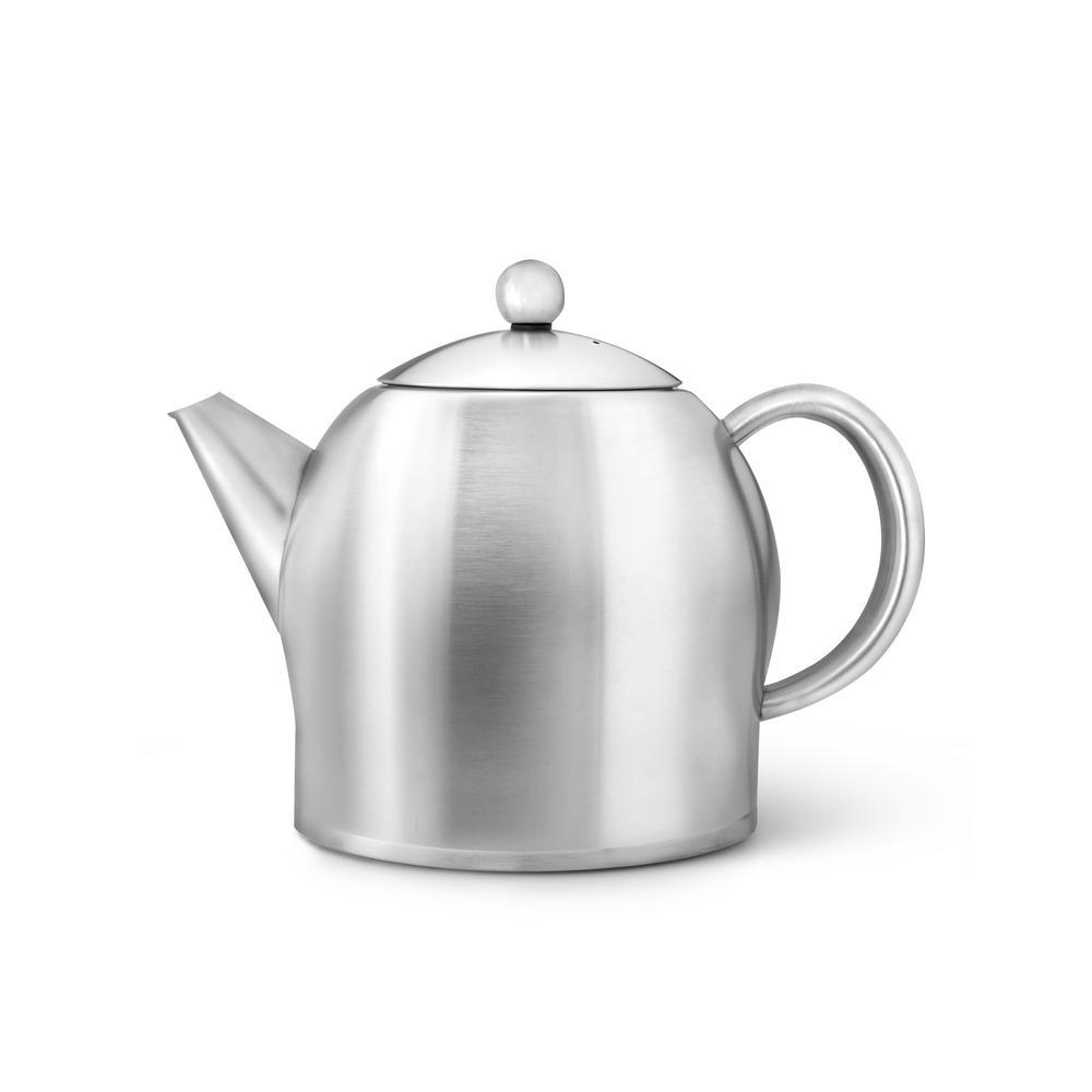 47 fl. oz. Satin Santhee Teapot
