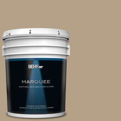 5 gal. #MQ2-47 Midtown Satin Enamel Exterior Paint and Primer in One