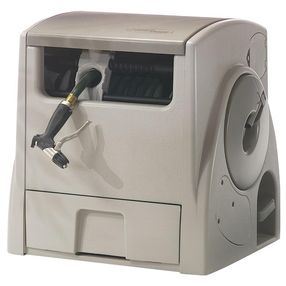 Suncast 100 Ft Powerwind Automatic Rewind Hose Reel Cplpw100 The