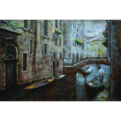 31.5 in. x 47.5 in. Canal Moments I