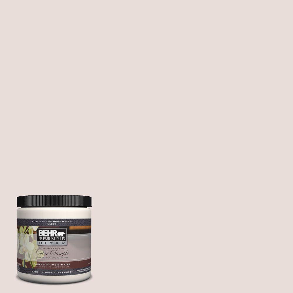 BEHR Premium Plus Ultra 8 oz. #UL120-14 Pale Cashmere Interior/Exterior Paint Sample