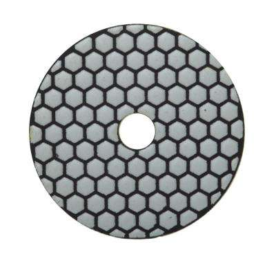 4 in. 100 Grit Resin Dry Polishing Pad