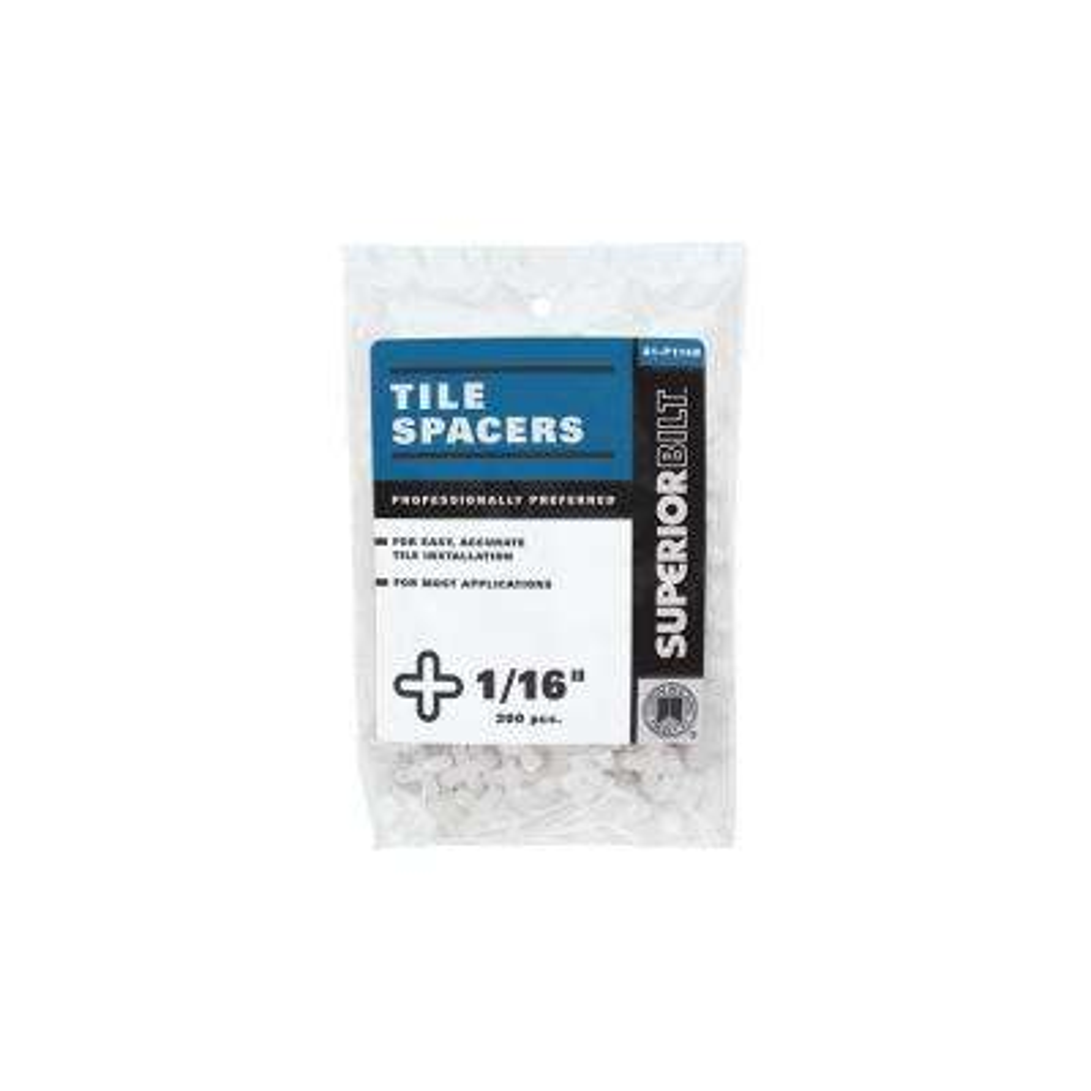 SuperiorBilt ProBilt Series 1/16 in. Tile Spacers (300 pack)