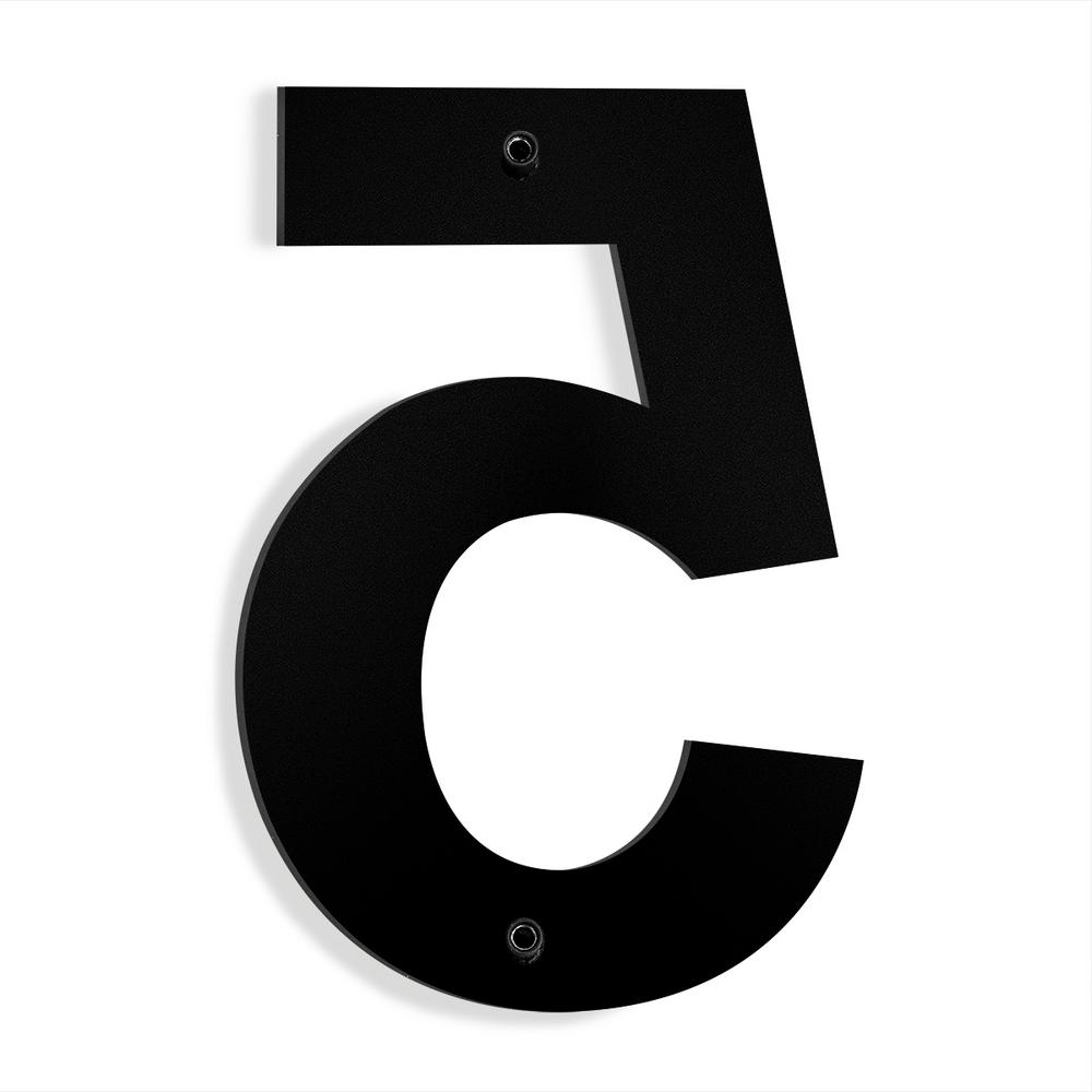 CGSignLab 8x3 Sale Today Only 5-Pack Basic Black Premium Brushed Aluminum Sign