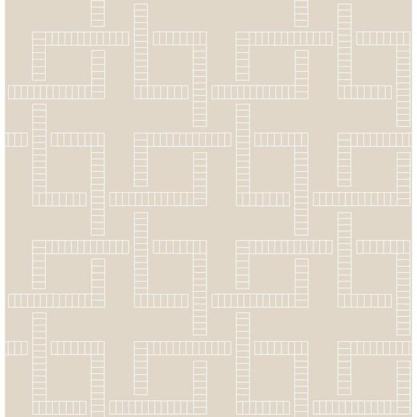 Koum Theory Beige Geometric Paper Strippable Wallpaper Roll Covers 56 4 Sq Ft Br2625 21831 The Home Depot