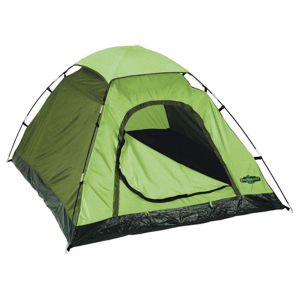 1 Person Adventure Tent in Green  sc 1 st  The Home Depot & StanSport 1 Person Adventure Tent in Green-2012-0339 - The Home Depot