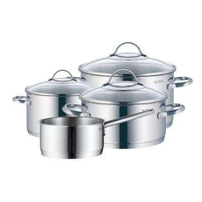 Provence Plus 7-Piece Stainless Steel Cookware Set with Lids