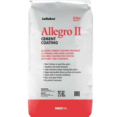Allegro II 12 lb. Stucco Base