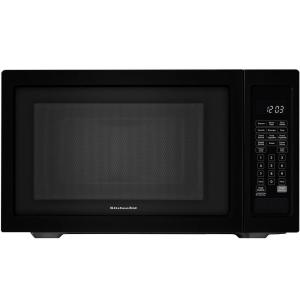 KitchenAid Architect Series II 1.6 Cu. Ft. Countertop Microwave In Black  Built In Capable With Sensor Cooking KCMS1655BBL   The Home Depot