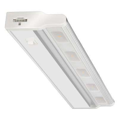 UCLD 18 in. LED White Swivel and Linkable Under Cabinet Light