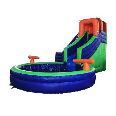 Inflatable Bounce House with Pool and Blower