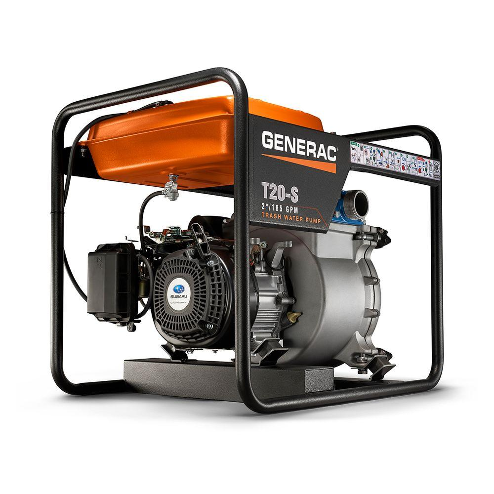 Generac 7 HP 2 in. Gas Powered Trash Pump