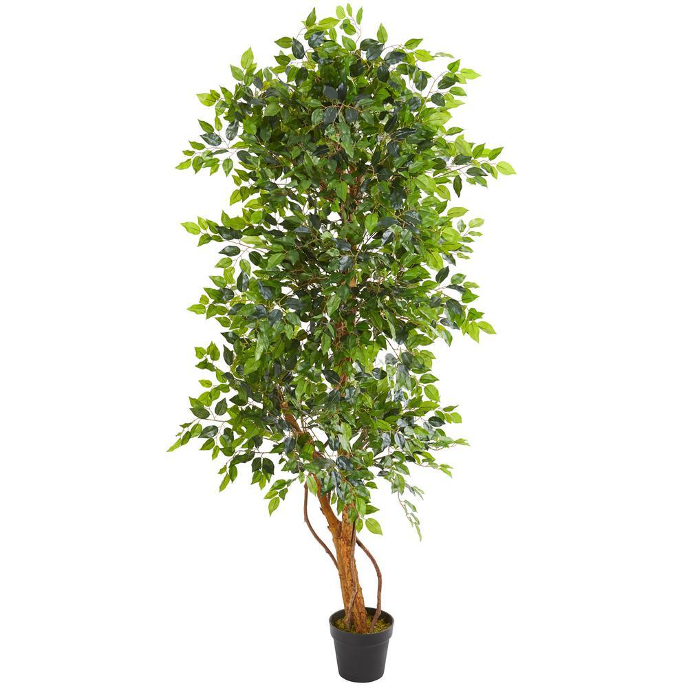 Indoor 6 ft. Elegant Ficus Artificial Tree
