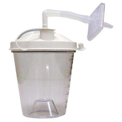 800CC Disposable Suction Canisters (Pack of 12)