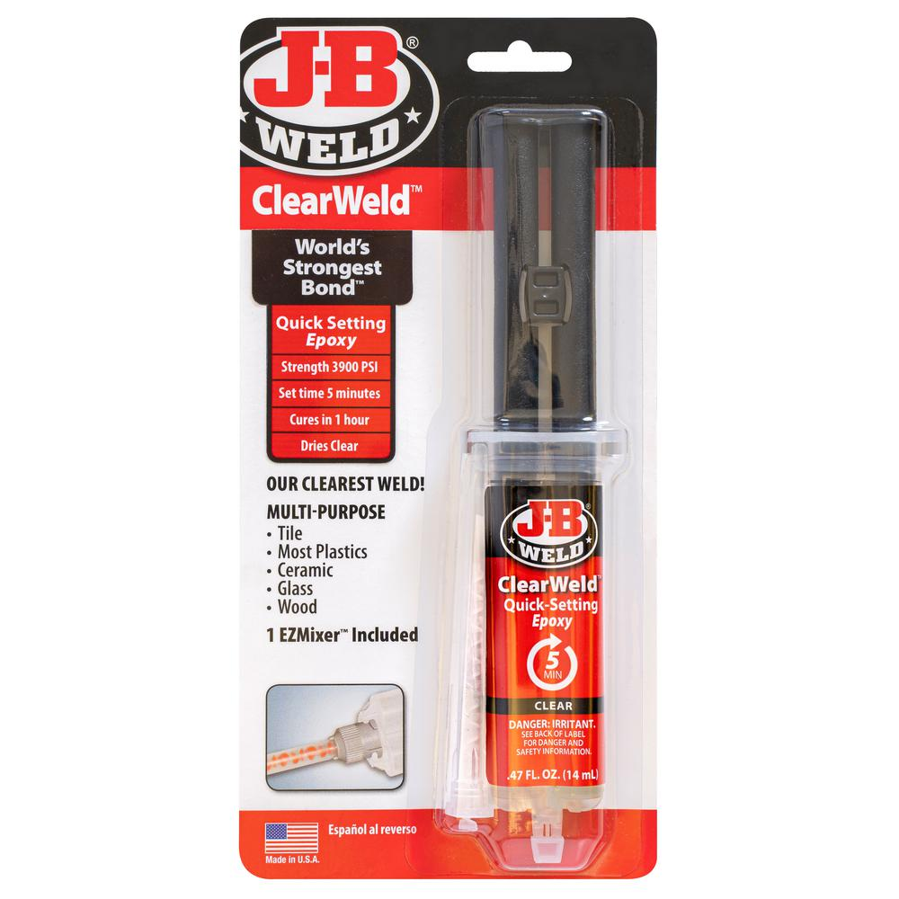 J-B Weld 0.47 oz. ClearWeld