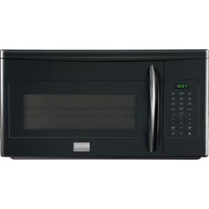 over the range microwave in black frigidaire gallery - Frigidaire Gallery Stove