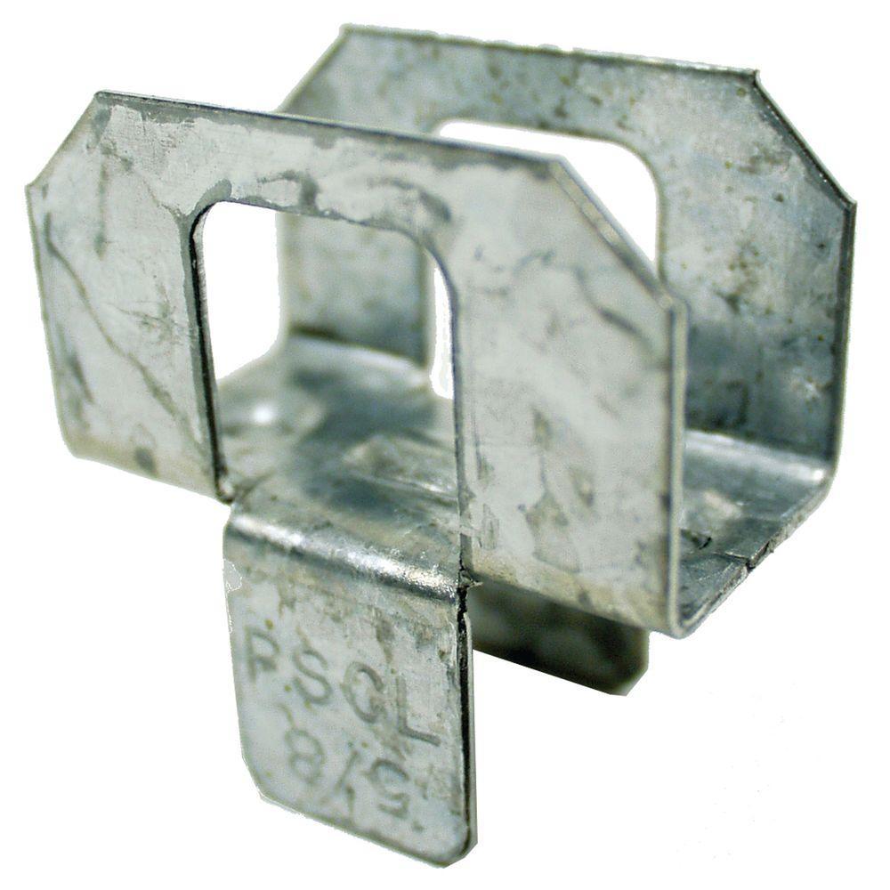 5/8 in. 20-Gauge Plywood Sheathing Clip (250-Pack)