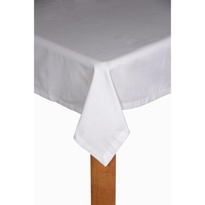 Hotel Butler Service 70 in. x 126 in. 100% Cotton Tablecloth