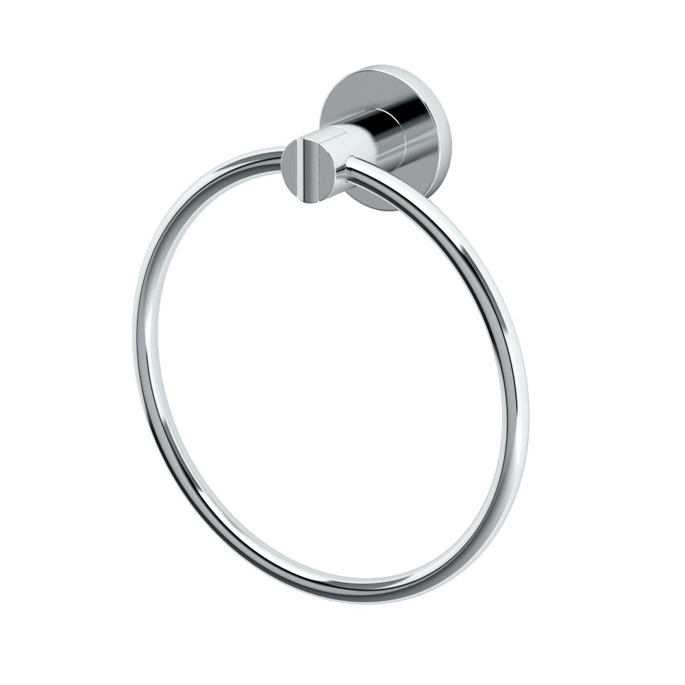 Hand Towel Ring Placement: Gatco Channel Towel Ring In Chrome-4682