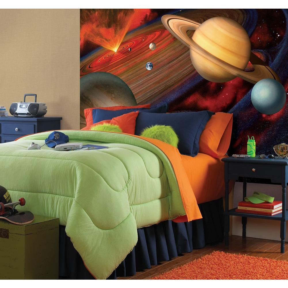 Bedroom Colours Designs Bedroom Storage Bedroom Wall Paint Colour Ideas Bedroom Wall Decor Canada: National Geographic 48 In. X 72 In. Great Universe Wall