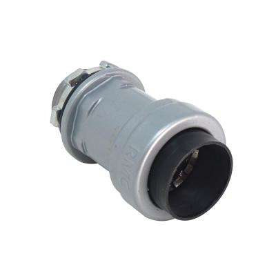 1-1/2 in. x 1 ft. Rigid and IMC Push Connect Box Connector