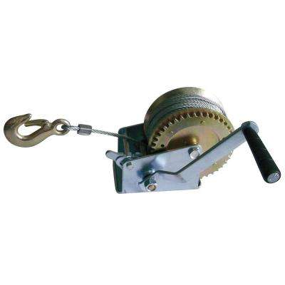 1000 lb. Steel Hand Operated Gear Winch