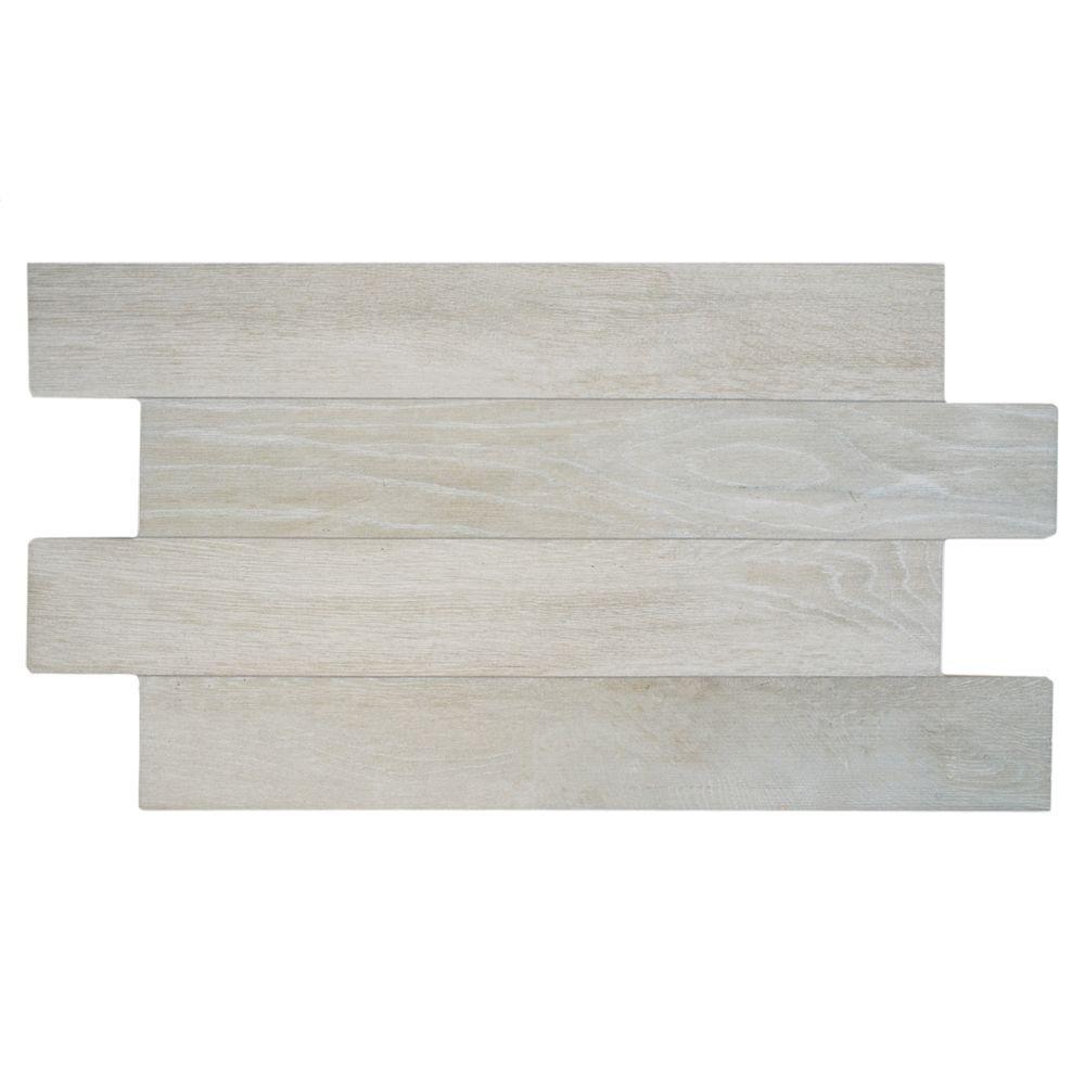 Jimki Nordico 12-1/4 in. x 23-5/8 in. Porcelain Floor and Wall