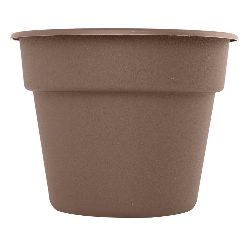 Bloem 16 in. Curated Dura Cotta Plastic Planter